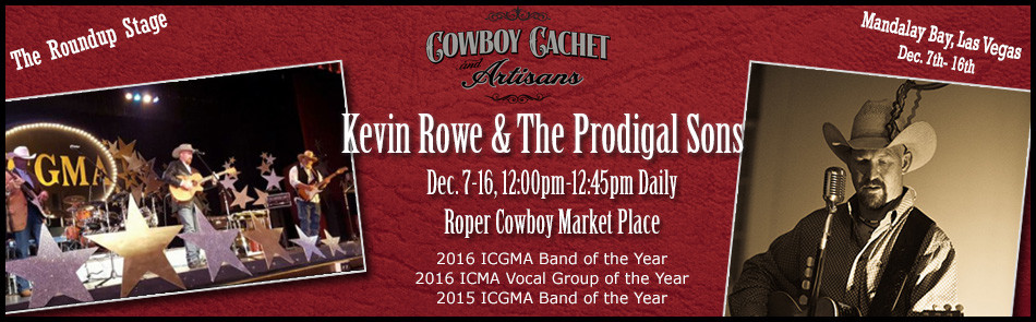 CCA Roundup Stage – Kevin Rowe & The Prodigal Sons